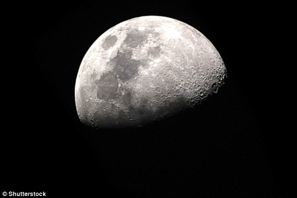 Many researchers believe that the moon formed after Earth hit the size of Mars billions of years ago.  This is called the giant impact hypothesis