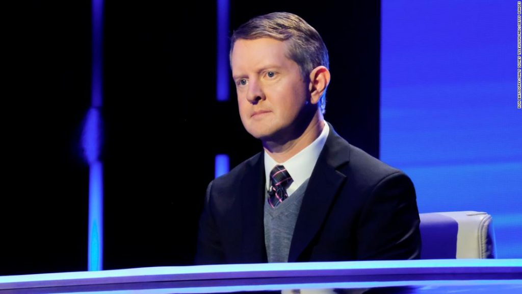 "Ken Jennings from ""The Danger!""  He apologizes for the insensitive tweets"