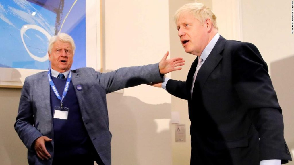 Boris Johnson's father says he will seek French citizenship hours before Brexit