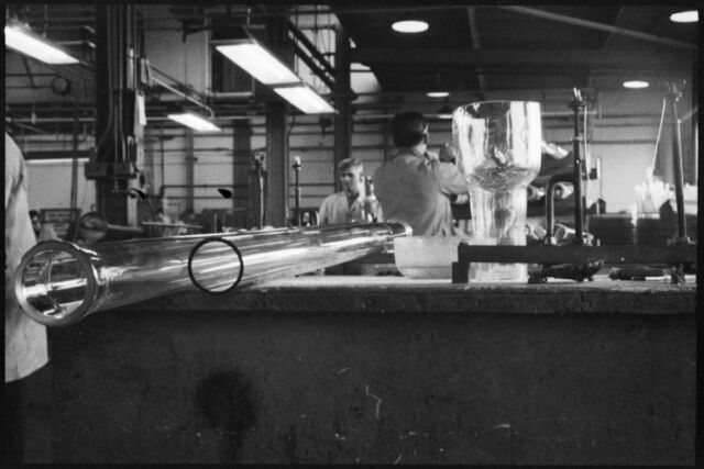Laboratory glassware manufactured at Wear Flint Glass Works, 1961.