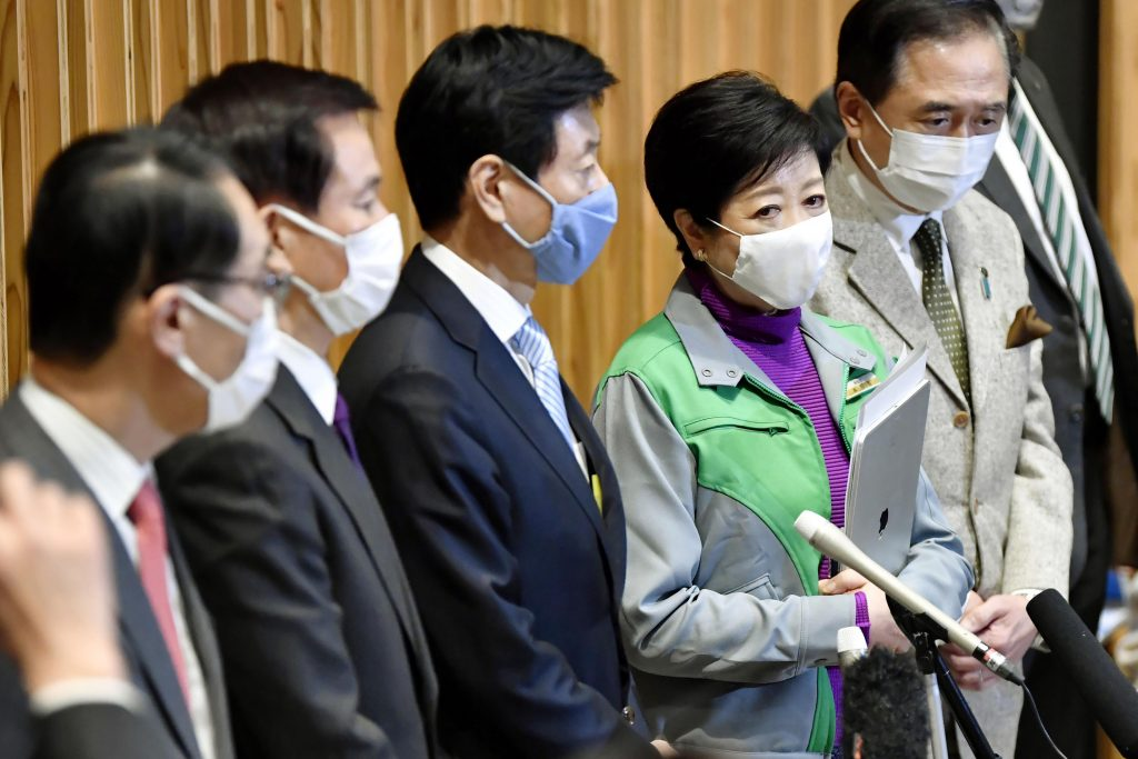Japan's rulers are calling for a state of emergency over COVID