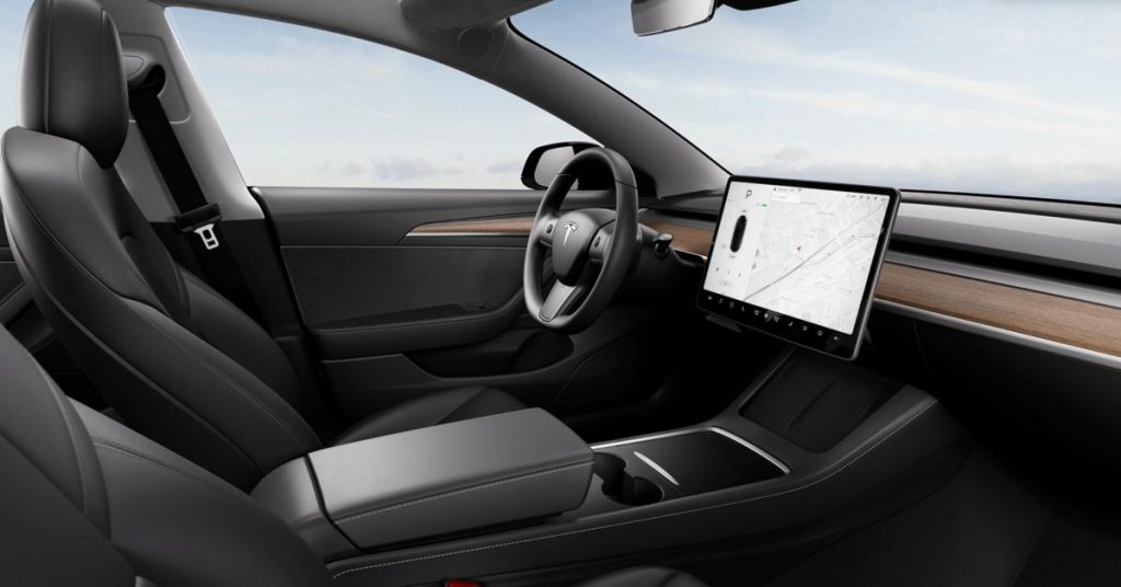 Tesla is updating the Model 3 with a new design touch and a heated steering wheel