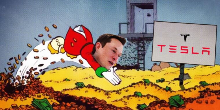 Elon Musk is the richest person in the world