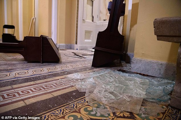 The insurgency on the Capitol has been linked to the killing of at least five people so far