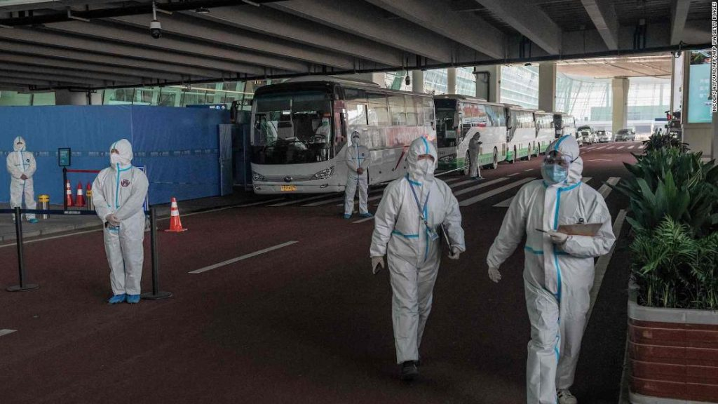 Wuhan: Two members of the World Health Organization (WHO) team were prevented from entering China due to the failure of the antibody test for Coronavirus