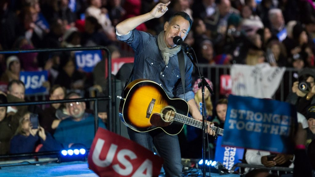 Bruce Springsteen and Voo Fighters play at Biden Harris' opening ceremony