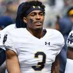 Defensive Houston Griffiths return to Notre Dame