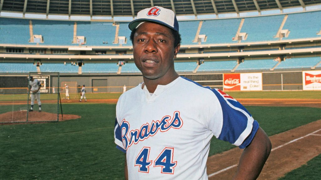 Hank Aaron, the long-running king of baseball and Hall of Famer with Braves, dies at age 86