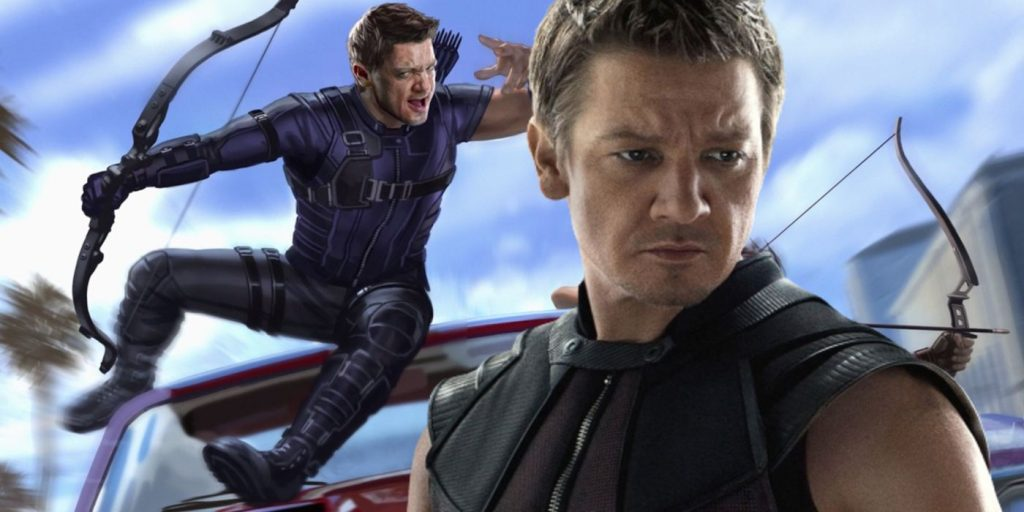Hawkeye's Jeremy Renner shares a cute shooting training photo with his daughter