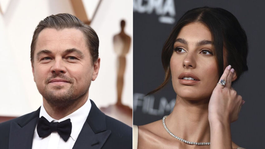 Leonardo DiCaprio and Camila Moroni carried on the Italian at the northern end