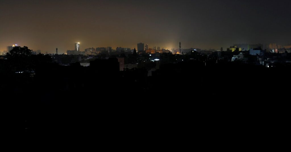 Much of Pakistan is losing power in massive blackouts
