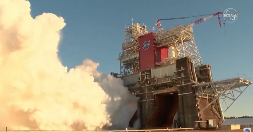 NASA's critical missile test ends early with the shutdown