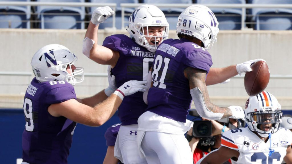 Northwestern vs. Auburn vs. No.14 Wildcats culminate in strong season with win over Tigers at Citrus Bowl