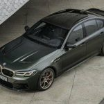 Pictures of the new BMW M5 CS for 2021 have leaked