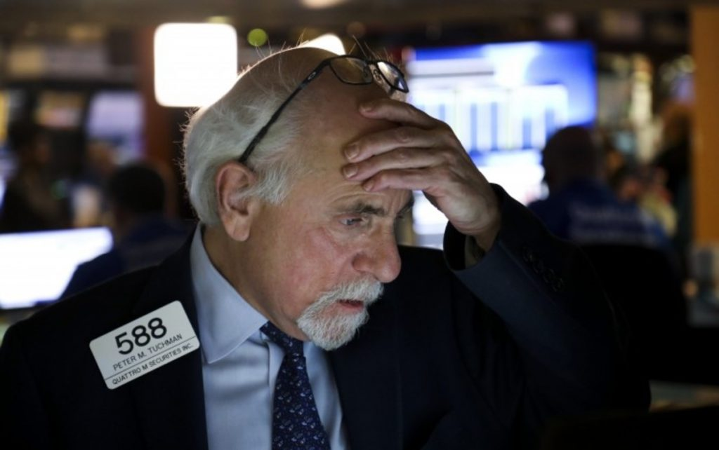 The Dow collapses as Wall Street mulls the size of Biden's aid package