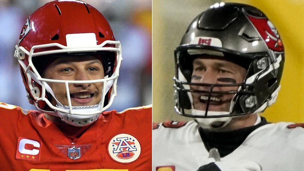 Tom Brady, Patrick Mahomes' age disparity appears in two adorable tweets